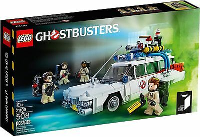 LEGO 21108 Ghostbusters Ecto-1 - Brand New In Sealed Box