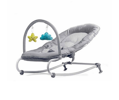 Baby Bouncer Rocker Chair Infant Newborn Support Soft Rocking Seat Play Sleep