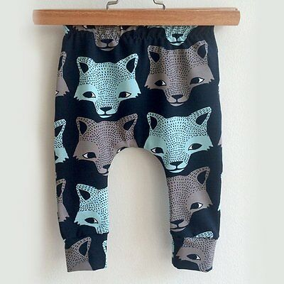 Toddler Kids Baby Boys Girls Cotton Harem Pants Trousers PP Leggings Sweatpants