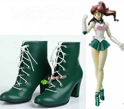 Hot! Anime Sailor Moon Red Girls Cosplay shoes boots Custome Custom-Made HH.699
