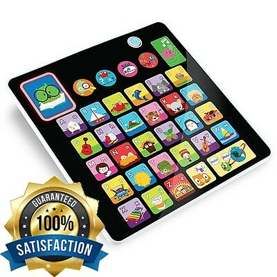 Educational Toys For 3 Year Olds Alphabet Learning Tablet Toy Boys Girls Play