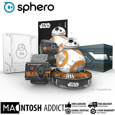 Sphero Star Wars BB-8 Battle-Worn Edition App-Enabled Robotic Droid + Force Band