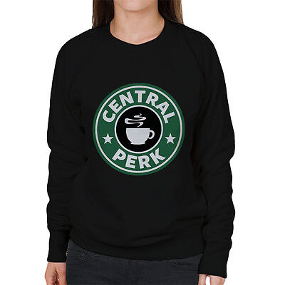 Friends Central Perk Starbucks Logo Women's Sweatshirt