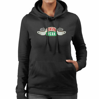 Friends Central Perk Logo Women's Hooded Sweatshirt