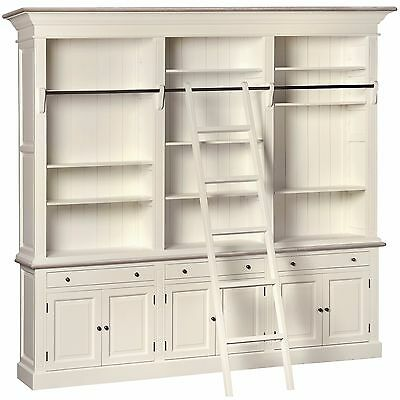 Massive Bookcase With Cabinets Attractive And Elegantly Home Furniture Antique