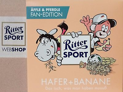 Ritter Sport Äffle & Pferdle Hafer + Banane limitierte Fan-Edition