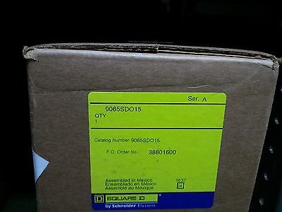 Square D 9065Sdo15 New In Sealed Box Size 4 Overload Relay