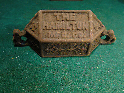 Vintage Cast Steel Hamilton Type Drawer / Bin Pull - Variation #1    (Rj-00101)
