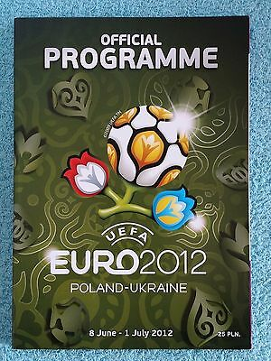 2012 - EURO 2012 TOURNAMENT PROGRAMME - English Language Edition