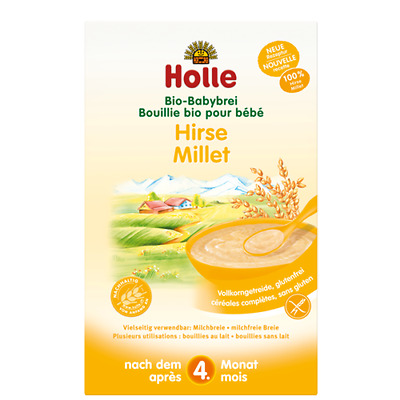 Holle | Millet Porridge With Rice | 1 x 250g