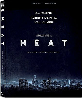 Heat (Director's Definitive Edition)(Blu-ray)(Region Free)