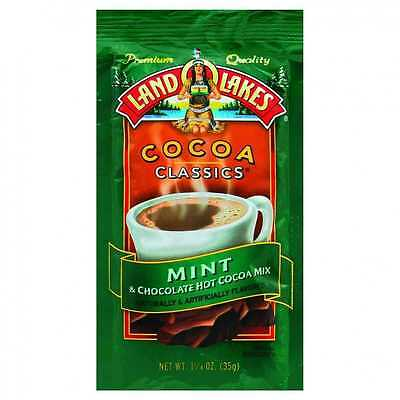 Land O Lakes Cocoa Classic Mix, Mint and Chocolate - (Case of 12 - 1.25 oz)