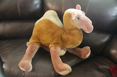 "Pier One Import Stuffed Animal Camel Huge Large 25"" Tall Great Condition"