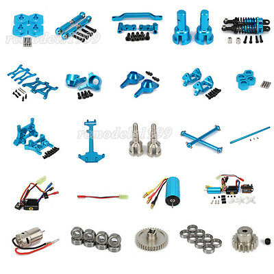 For RC 1/18 WLtoys Off-road A959 A969 A979 K929 Alum Upgrade Parts Blue