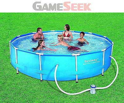Bestway - Steel Pro Frame Pool 366X76Cm With Pump