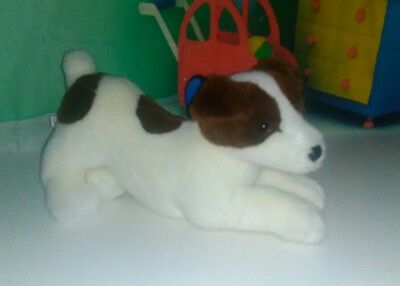 Laying Jack Russell Terrier Douglas Cuddle Toys Dog Plush Stuffed Animal 15""