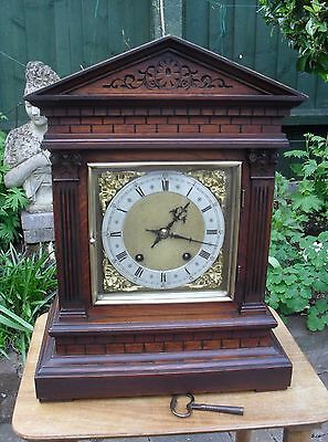 Magnificent Winterhalder & Hofmeier Quarter Strike Ting Tang Bracket Clock