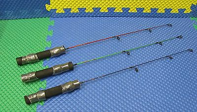 "Apache Tomahawk 24"" Medium Action Ice Rod CHOOSE YOUR COLOR!!"