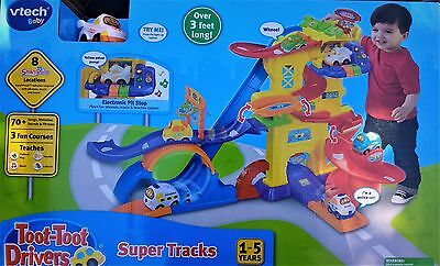 Vtech Toot - Toot Drivers Super Tracks, Kids Over 3 Feet Long Toy - BRAND NEW