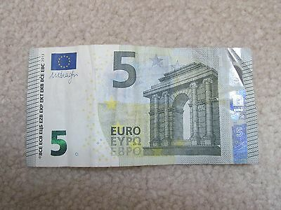 European Union €5 Euros Circulated Paper Note Currency $5 EUR