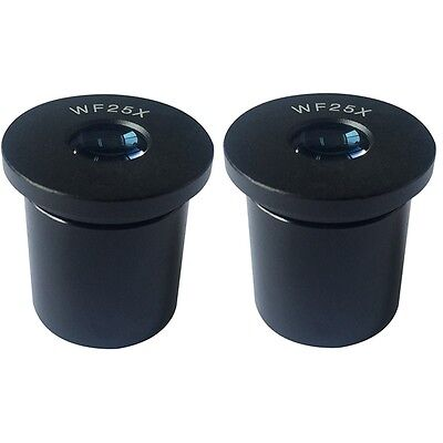 WF25X Eyepiece for Biological Microscope Lens Wide Field Mount 23.2mm Reticle