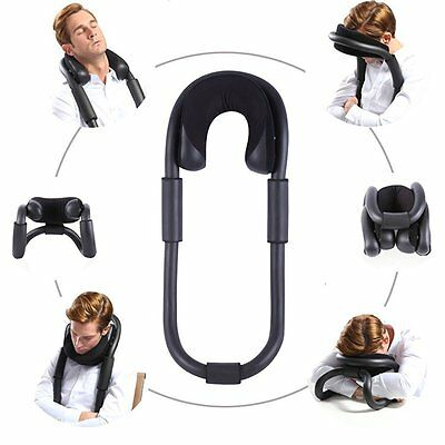 Bendable travel pillow,ergonomic design O-Shape pillow with memory foam-Neck for