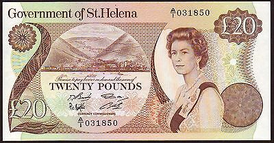 St. HELENA  20 Pounds  ND (1986)  Gem UNC
