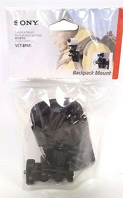 ****Sony Backpack Mount for Sony Action Camera Camcorders VCT-BPM1  New!****
