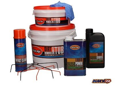Twin Air Air filters Cleaning Set Bio suitable for Husqvarna TC 85 125 250