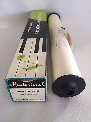 Pianola Roll - Wallpaper Roses - Mastertouch