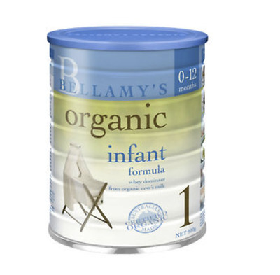 100% Australia and New Zealand Baby Formula x 4 tins Bellamy's Organic