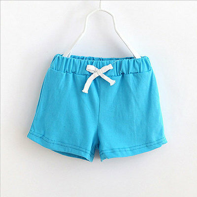 1Pc Summer Kids Cotton Shorts Boys Girls Shorts Candy Color Baby Clothing Pants