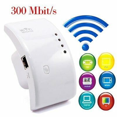 300Mbps Wireless N 802.11 AP Wifi Range Router Repeater Extender Booster XP