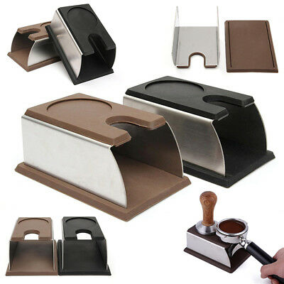 Coffee Tamper Holder Stand Rack Tool Accessory Barista Tamping Station 2 Color