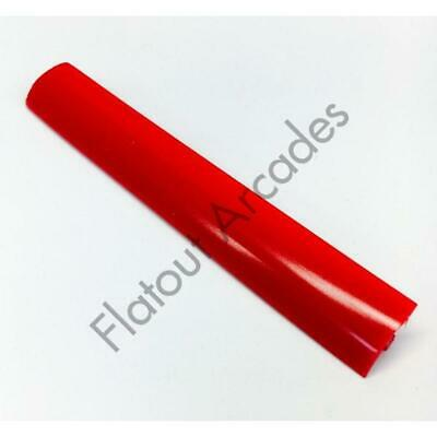 RED ARCADE T-MOLDING 10FT ROLL NEW 18mm T-moulding ARCADE BARTOP MACHINE