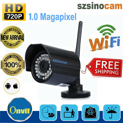Telecamera Ip Camera Hd 720P Wireless Led Ir Motorizzata Wifi Rete Esterno 8Gb
