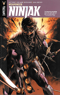 Ninjak Vol 1: Weaponeer & Vol 2: Shadow Wars by Kindt, Guice & more 2015 TPB
