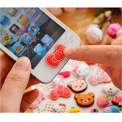 Fashion Cute Home Button Sticker Decal For Apple iPhone 5 5C 4S iPod iPad Air BJ