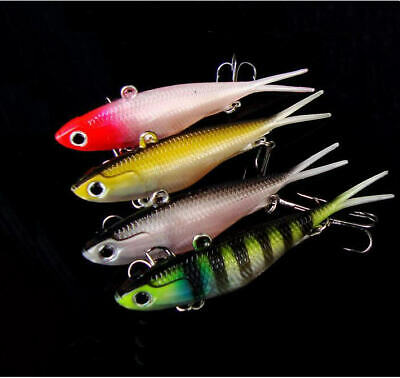5pcs Minnow Fishing Lures Floating Bass Murray Cod Barra Bream 10cm