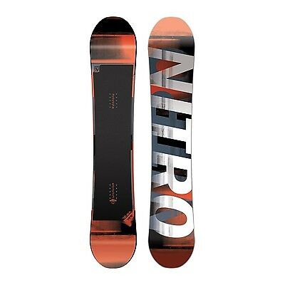 NITRO 2017 Snowboard Team  Gullwing Rocker 155