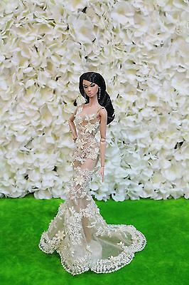Evening dress by   for Fashion royalty / poppy parker dolls by t.d.fashion 7/4/9