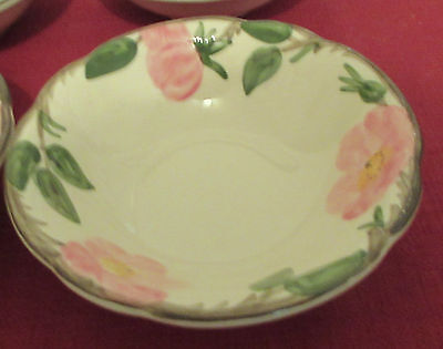 Franciscan Desert Rose USA Footed Oatmeal Bowls Set of Two