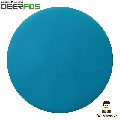 "Wet or Dry Sanding Disc Waterproof Film DEERFOS 6"" 150mm Hook & Loop 40-2000"