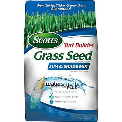 Scotts Turf Builder Grass Seed - Sun and Shade Mix 7 Pound Not Sold in Louis...