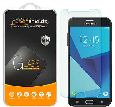 Supershieldz Tempered Glass Screen Protector Saver For Samsung Galaxy J7 Perx