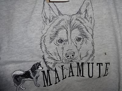 Alaskan Malamute T-shirt Size S Small Embroidered new with tags.