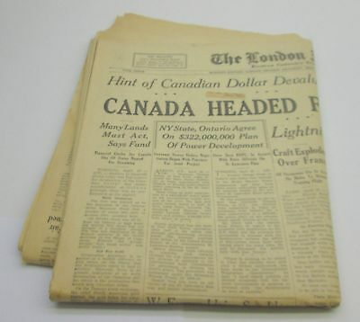 THE LONDON FREE PRESS ~ Western Ontario's Foremost Daily NEWSPAPER ~ May 1, 1948