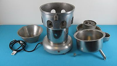 Commercial Juicer, Juice Extractor Machine  9.2 Amps, 3/4 H.p.