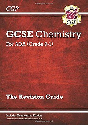 New Grade 9-1 GCSE Chemistry: AQA Revision Guide - Book by CGP Books (Paperback)