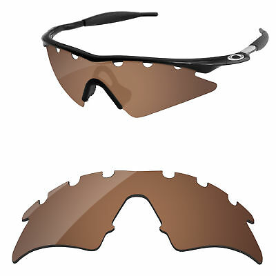 FIRE RED POLYCARBONATE Replacement Lenses For-Oakley M Frame Sweep ...